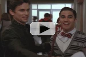 STAGE TUBE: Behind the Scenes of GLEE with Matt Bomer!