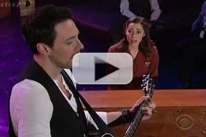STAGE TUBE: ONCE Cast Performs 'Falling Slowly' on THE LATE SHOW!