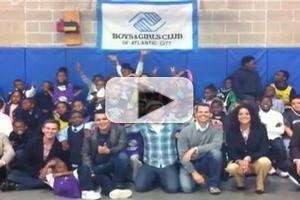 STAGE TUBE: THE MIDTOWN MEN Visit The Boys & Girls Club