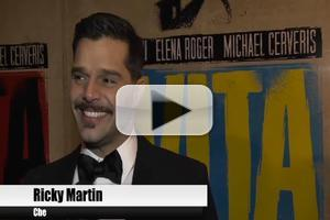 BWW TV: Chatting with the Stars of EVITA on Opening Night!
