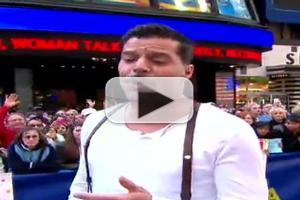 STAGE TUBE: The Cast of EVITA Performs on Good Morning America!