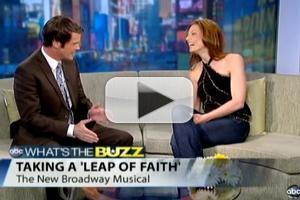 STAGE TUBE: LEAP OF FAITH's Jessica Phillips Talks with ABC 10