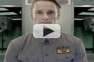 STAGE TUBE: First Look - Michael Fassbender as PROMETHEUS 'Android'