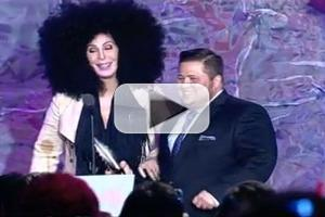 STAGE TUBE: Cher, Max Adler and More Present GLAAD Awards to Chaz Bono, Josh Hutcherson et al.