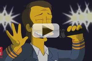STAGE TUBE: Robert Lopez Song Featured on THE SIMPSONS!