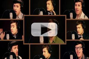 STAGE TUBE: Nick Pitera Sings One Man NEWSIES Medley!