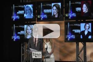 BWW TV: Inside the Tony Nominations Conference with Kristin Chenoweth & Jim Parsons!