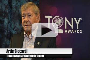 BWW TV Special: 2012 Tony Nominees - Artie Siccardi on Working GYPSY with the 'Great' Ethel Merman