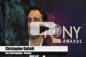 BWW TV Special: 2012 Tony Nominees - Christopher Gattelli on Dreams Coming True