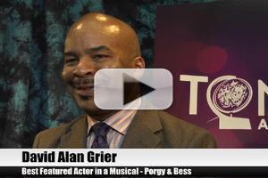 BWW TV Special: 2012 Tony Nominees - David Alan Grier on Being Welcomed Back to Broadway in PORGY AND BESS!