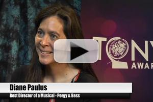 BWW TV Special: 2012 Tony Nominees - Diane Paulus on the Director's Dream That Was PORGY AND BESS!