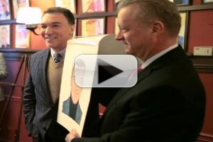 BWW TV: SPIDER-MAN's Patrick Page Gets Sardi's Caricature!