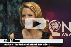 BWW TV Special: 2012 Tony Nominees - Kelli O'Hara on Showing a New Side of Herself in NICE WORK ...
