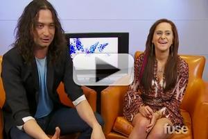 STAGE TUBE: Constantine Maroulis Chats With AMERICAN IDOL's Skylar Laine on FUSE