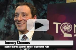 BWW TV Special: 2012 Tony Nominees - Jeremy Shamos on CLYBOURNE PARK's Journey to Broadway!