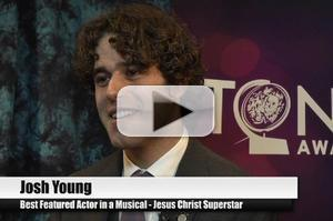BWW TV Special: 2012 Tony Nominees - Josh Young on Being the Luckiest Man in the World!