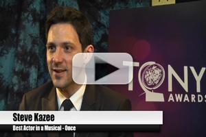 BWW TV Special: 2012 Tony Nominees - Steve Kazee: 'I Dedicate it all to Mom'