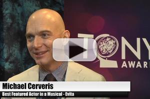 BWW TV Special: 2012 Tony Nominees - Michael Cerveris on Transforming into Juan Peron!