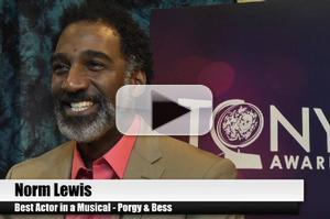 BWW TV Special: 2012 Tony Nominees - Norm Lewis on Being Over the Moon for PORGY & BESS!