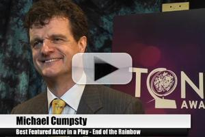 BWW TV Special: 2012 Tony Nominees - Michael Cumpsty on Being a Part of the Broadway Family!