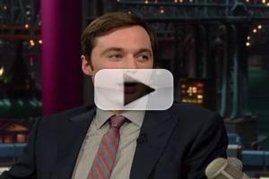 STAGE TUBE: HARVEY's Jim Parsons Visits LATE SHOW!