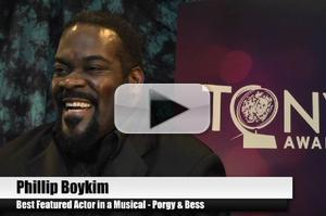 BWW TV Special: 2012 Tony Nominees - Phillip Boykin Overjoyed to Make it to Broadway in PORGY & BESS!