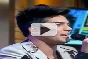 STAGE TUBE: Adam Lambert Performs on GMA!