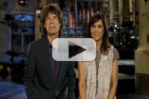 STAGE TUBE: Mick Jagger & Kristen Wiig in SNL Season Finale Promo