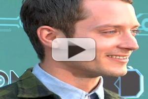 STAGE TUBE: Elijah Wood et al at Disney XD's TRON: UPRISING Premiere Party