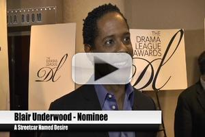 BWW TV: At The 2012 Drama League Awards - Blair Underwood, Christian Borle, Alan Menken and More!