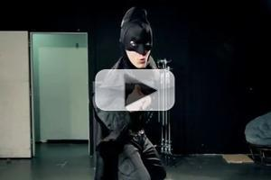 STAGE TUBE: Batman Auditions for Broadway's SPIDER-MAN!