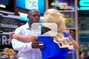 STAGE TUBE: DWTS' Donald Driver & Peta Murgatroyd Perform on GMA