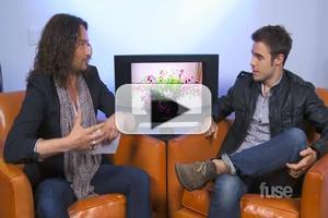 STAGE TUBE: Constantine Maroulis and Kris Allen Talk AMERICAN IDOL Finale Week