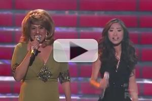 STAGE TUBE: Jessica Sanchez & Jennifer Holliday Sing 'And I Am Telling You I Am Not Going' at American Idol Finale