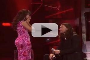STAGE TUBE: Ace Young Proposes to Diana DeGarmo Live on IDOL