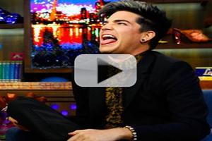 STAGE TUBE: Adam Lambert Visits WATCH WHAT HAPPENS LIVE