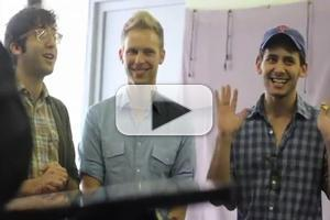 STAGE TUBE: Inside DOGFIGHT's First Rehearsal!