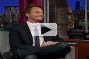 STAGE TUBE: Neil Patrick Harris Appears on LATE SHOW WITH DAVID LETTERMAN