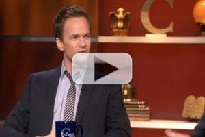 STAGE TUBE: Neil Patrick Harris Talks Tonys and More With Stephen Colbert!