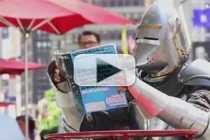STAGE TUBE: MEDIEVAL PLAY Knight Takes on NYC!