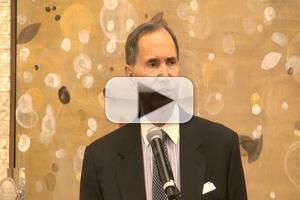 BWW TV: MTI's Freddie Gershon Receives Tony Honor For Excellence In The Theatre