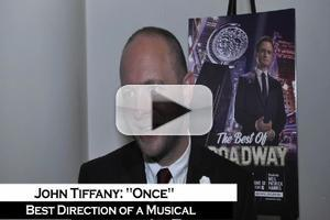 BWW TV: Tony Winner John Tiffany - 'ONCE Works Because We're Family'