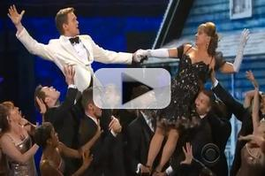 STAGE TUBE: The 2012 Tony Awards Opening Number- Patti LuPone, Amanda Seyfried, and Jesse Tyler Ferguson!