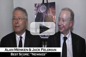 BWW TV: Alan Menken on His Tony Win - 'All the Oscars are Going to Move to the Side to Make Room For This!'