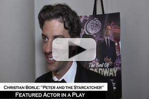 BWW TV: Best Featured Actor Tony Winner Christian Borle- 'I Just Can't Believe They Called My Name'