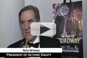 BWW TV: Nick Wyman on AEA's Special Tony - 'Now Every Equity Actor Has a Tony!'
