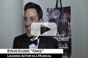 BWW TV: Tony Winner Steve Kazee on How He Almost Passed on ONCE