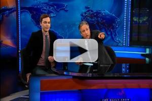 STAGE TUBE: HARVEY's Jim Parsons on THE DAILY SHOW with Jon Stewart!