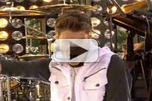 STAGE TUBE: Justin Bieber Performs Live on TODAY