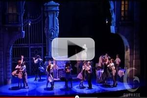 STAGE TUBE: Sneak Peek of Guthrie's ROMAN HOLIDAY, Opening Tonight, 6/15!